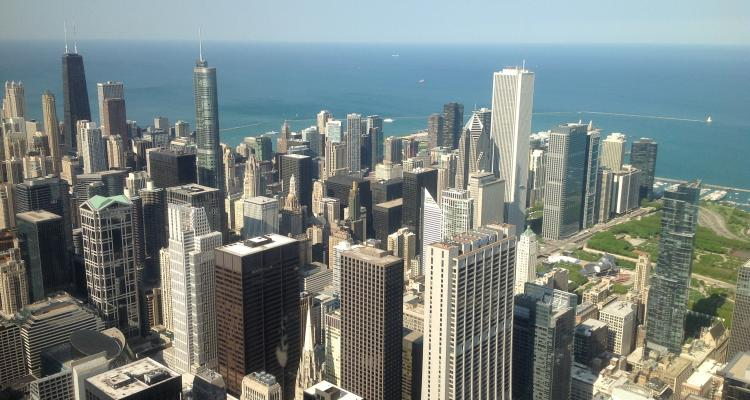 Views from the Sears tower... stunning.